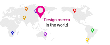 Design mecca in the world